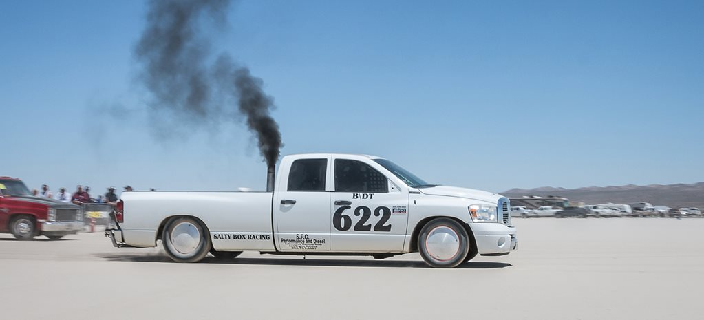1115HP DODGE RAM PICK-UP SETS CLASS LAND SPEED RECORD AT EL MIRAGE
