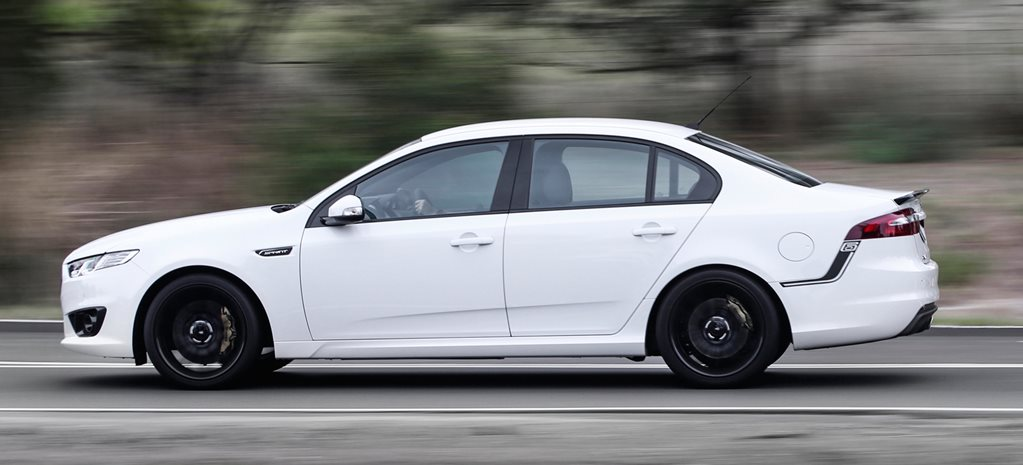 FALCON XR6 SPRINT DRIVE – SIX IN A ROW DOES GO!
