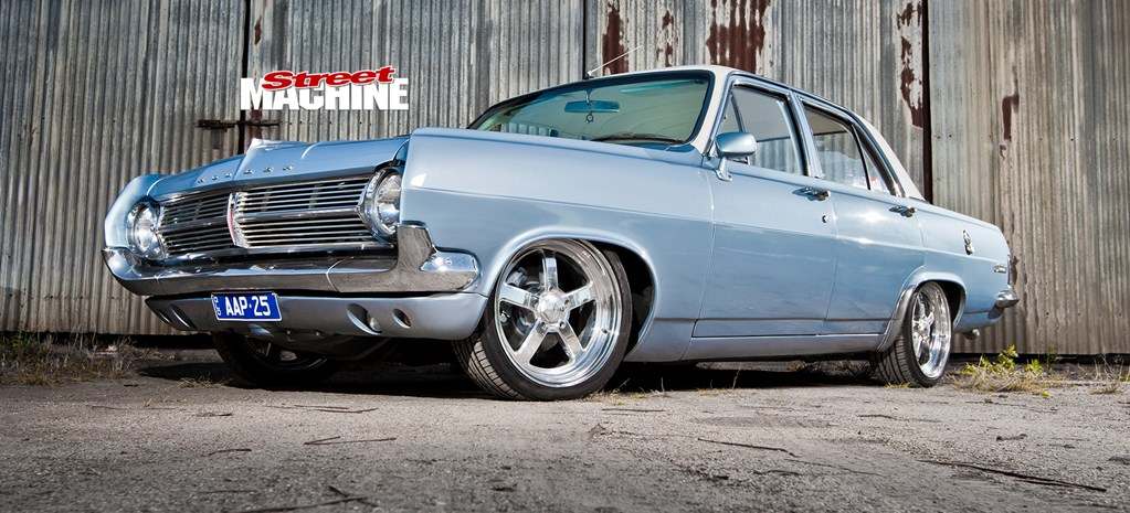 HOME-BUILT HOLDEN HD WITH TWIN SUPERCHARGERS