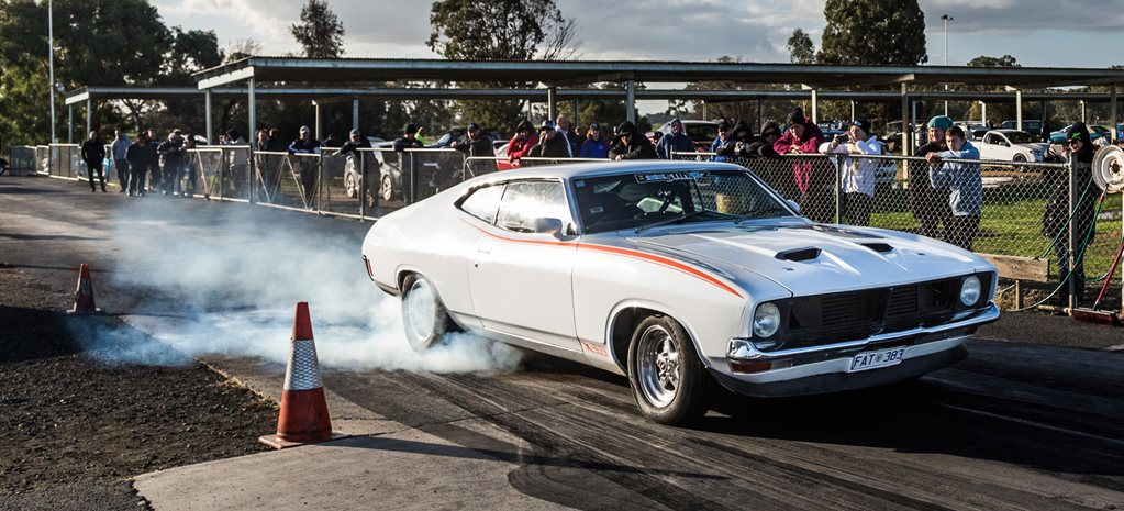 TURBO 383-POWERED XB FALCON COUPE RUNS NINES – DRAG CHALLENGE CONTENDER