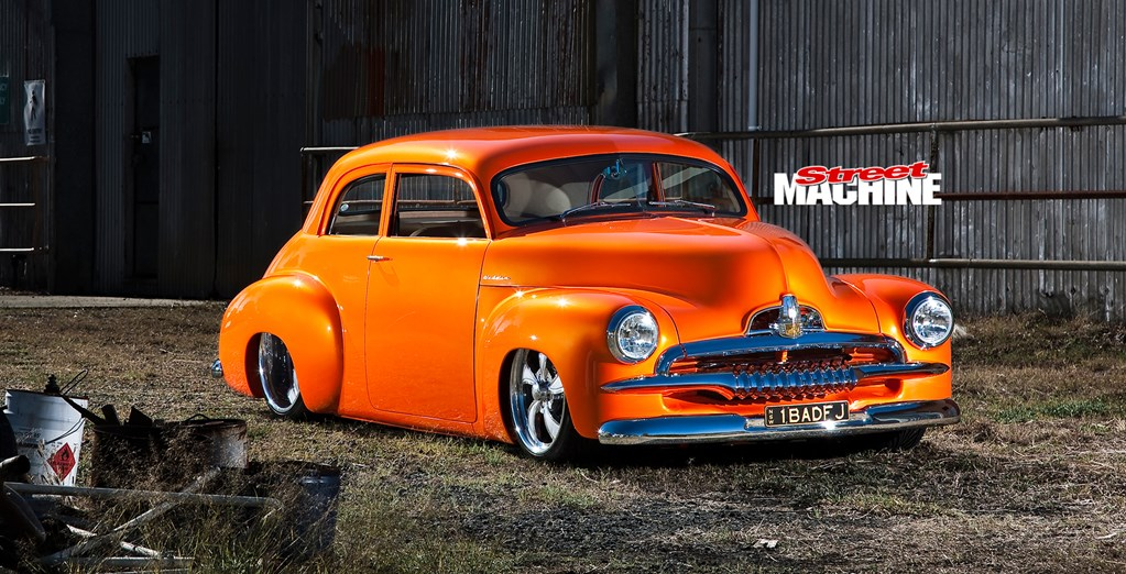 LS1-POWERED CHOPPED HOLDEN FJ COUPE CUSTOM