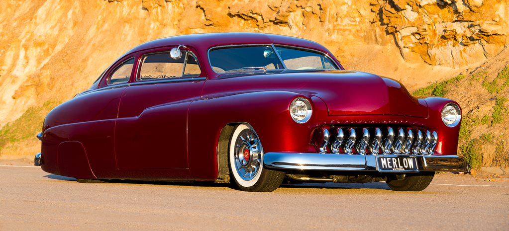 HOME-BUILT 1949 MERCURY LEAD SLED - VIDEO