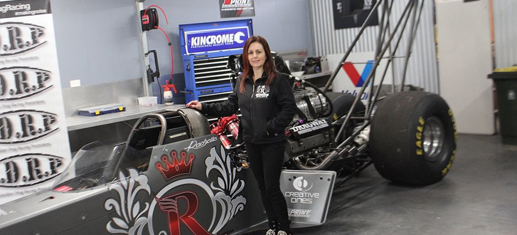 RACHELLE SPLATT RETURNS TO TOP FUEL RACING
