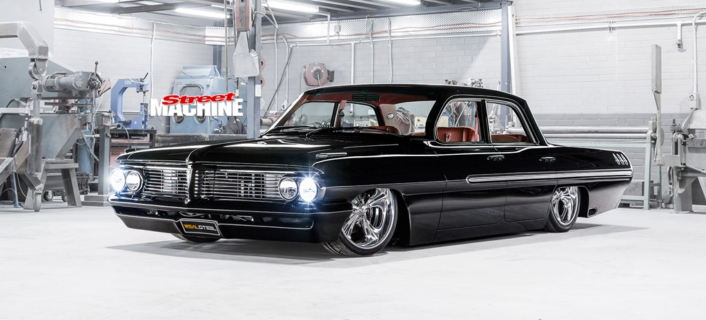 SLAMMED, BAGGED & BLOWN '62 PONTIAC LAURENTIAN
