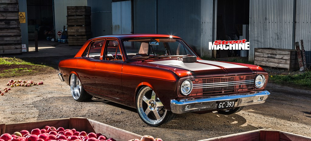 GRANT CONNOR'S AWARD-WINNING BAD APPLE 1967 FORD XR FALCON