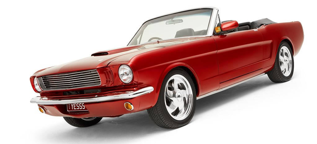 MARSHALL PERRON'S 1966 PRO TOURING MUSTANG
