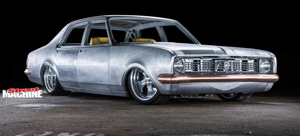 BARE METAL, BLOWN LSX-POWERED HOLDEN HT KINGSWOOD