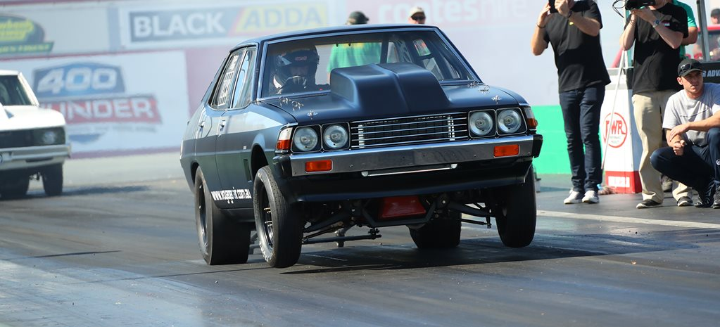 NINE-SECOND CHRYSLER SIGMA AT MOPAR SUNDAY – VIDEO