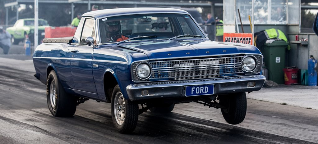 10-SECOND XR FALCON UTE WITH TWIN REAR-MOUNT TURBOS - VIDEO