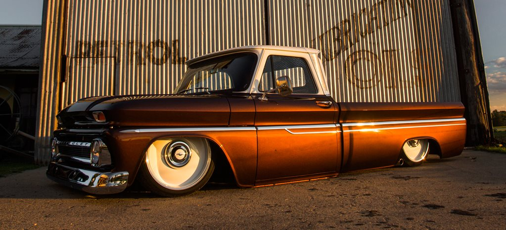 SLAMMED LS1-POWERED CHEVY C10 PICK UP