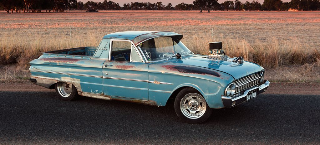 BLOWN 1963 FORD XL FALCON UTE - READER'S CAR OF THE WEEK