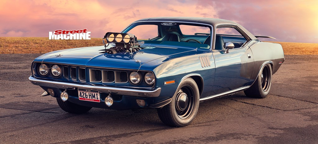 BLOWN 472ci HEMI-POWERED 1971 PLYMOUTH BARRACUDA