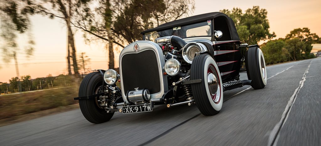 INSANE TURBO BIG-BLOCK '29 MODEL A ROADSTER PICK-UP HOT ROD