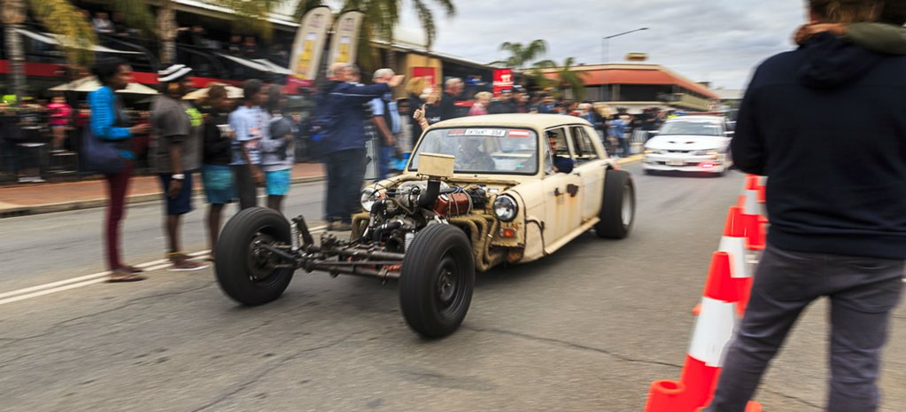 RED CENTRE NATS STREET CRUISE - VIDEO