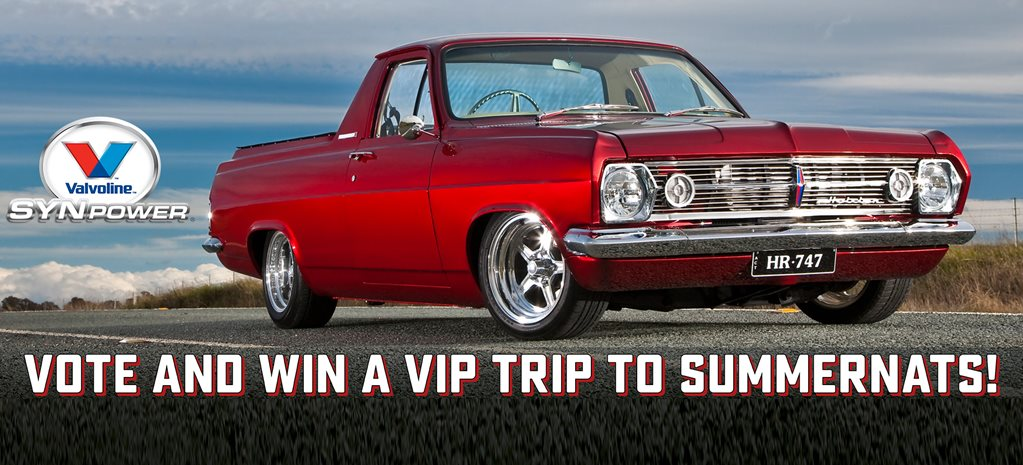 VOTE FOR THE VALVOLINE SMOTY AND WIN A TRIP TO SUMMERNATS 30!