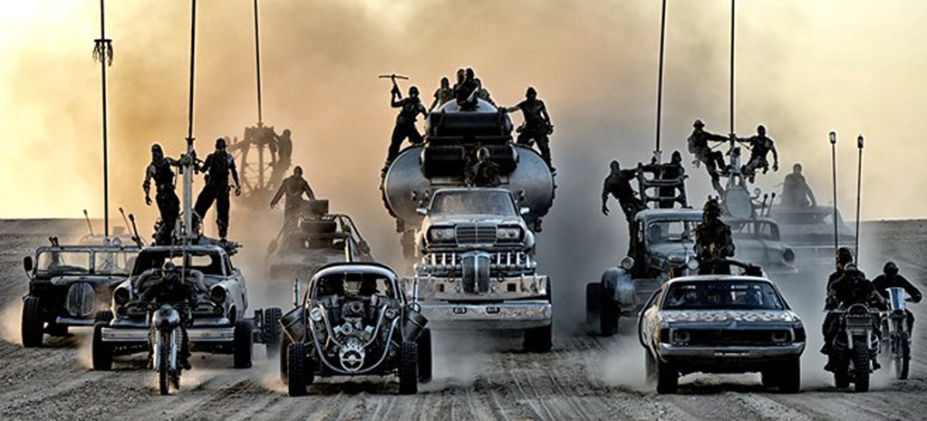 AWESOME REAL-LIFE ACTION FOOTAGE FROM MAD MAX: FURY ROAD – VIDEO