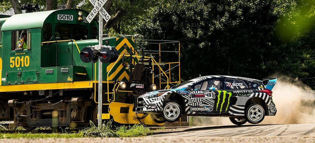 KEN BLOCK DROPS GYMKHANA NINE – VIDEO