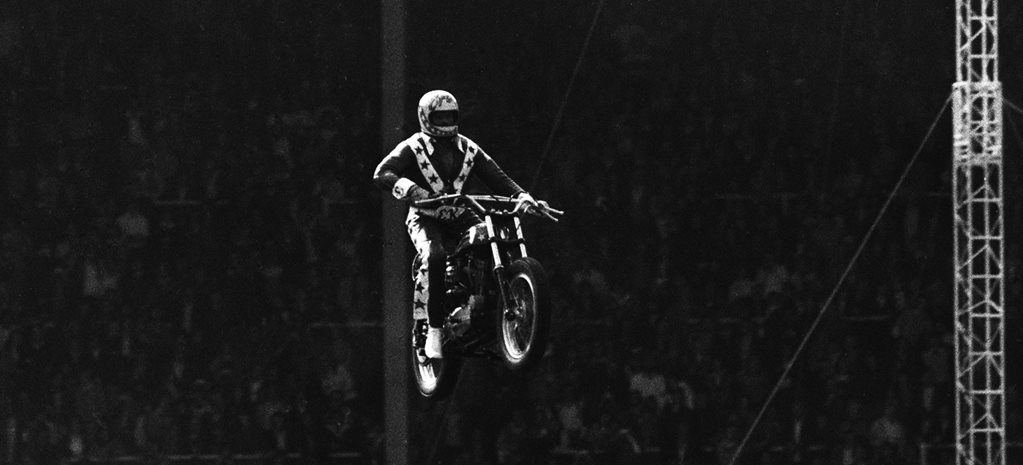 EVEL KNIEVEL – A LIFE OF DANGER