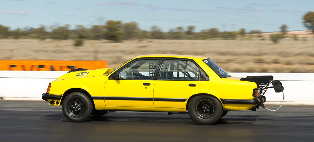 TWIN-TURBO 427 LS VC COMMODORE 'ISFAIR' AT RED CENTRE NATS – VIDEO