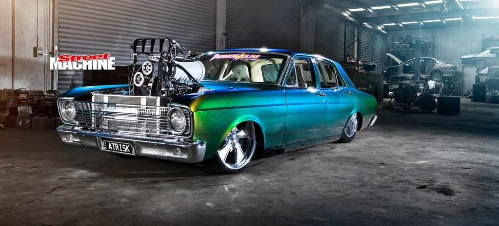 BLOWN BIG-BLOCK 1967 XR FALCON - ATRISK