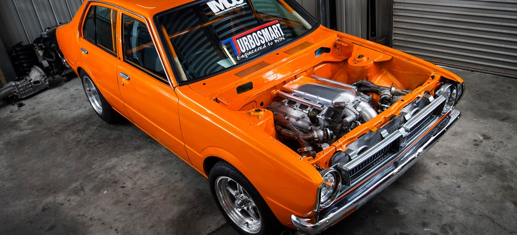 TWIN-TURBO LS COROLLA IN THE BUILD
