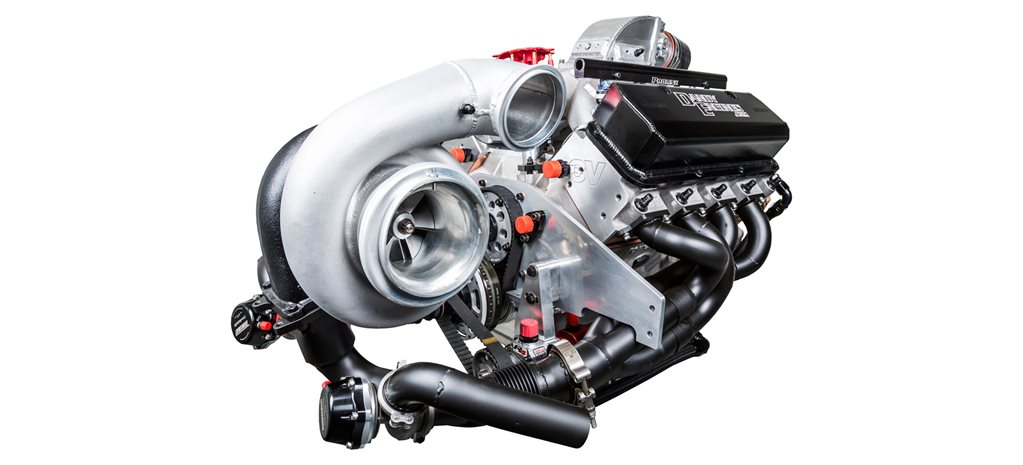 MONSTER TURBO 2000HP 420ci SMALL-BLOCK FORD ENGINE