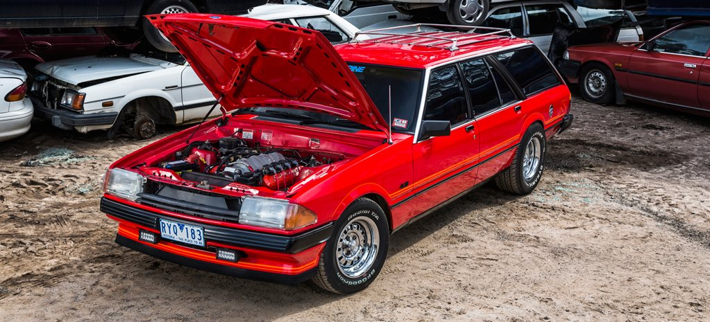 L98-POWERED FORD XD FALCON WAGON – DRAG CHALLENGE CONTENDER
