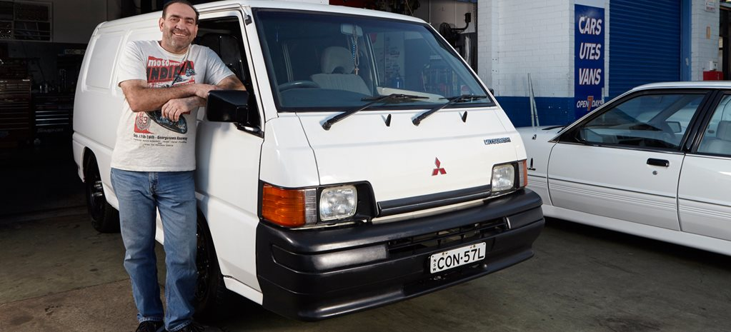 INSANE TWIN-TURBO LS POWERED MITSUBISHI VAN