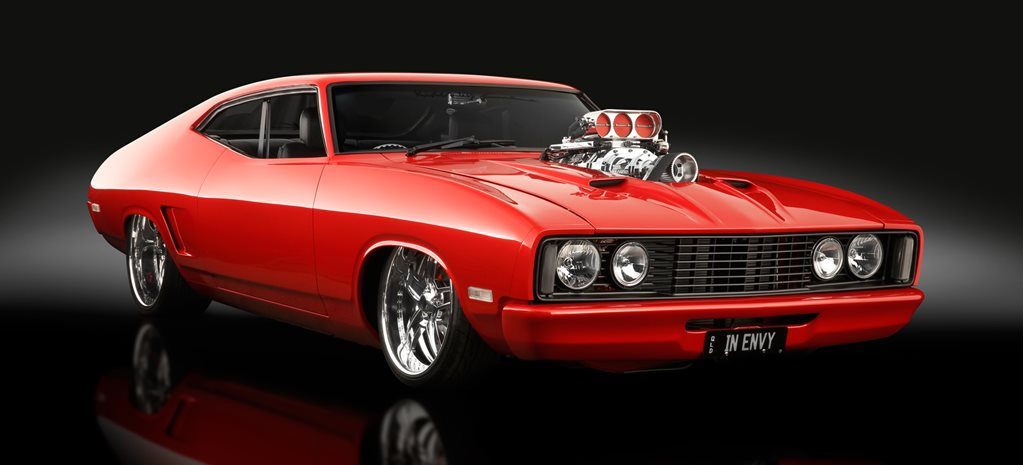 BLOWN 351-POWERED FORD XC FALCON COUPE - INENVY