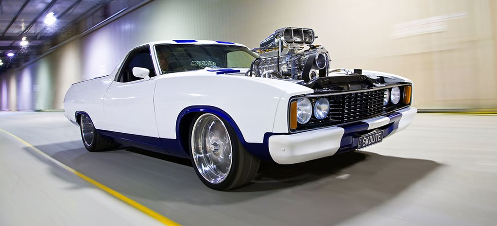 BLOWN 357CI SMALL-BLOCK FORD-POWERED XC FALCON UTE