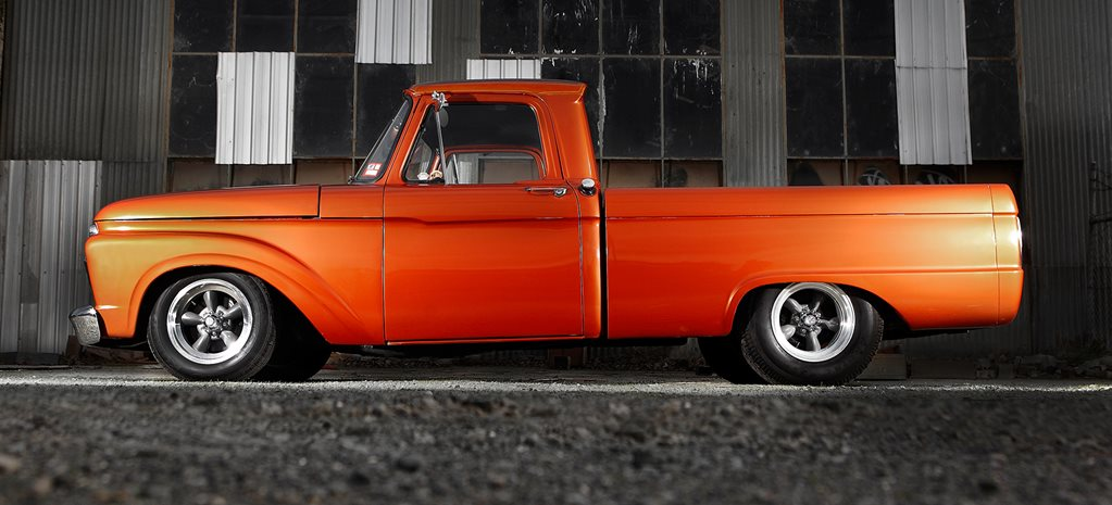 HOME-BUILT 302 CLEVO-POWERED 1964 FORD F100