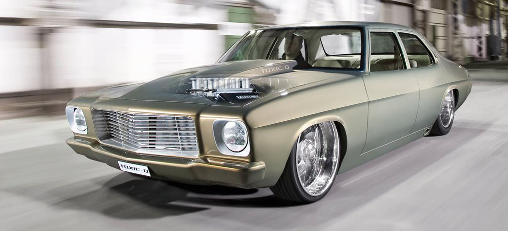 CUSTOM BIG-BLOCK HQ HOLDEN SEDAN – TOXIC Q