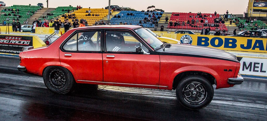 DRAG CHALLENGE 2016 ENTRANTS TESTING AT CALDER PARK