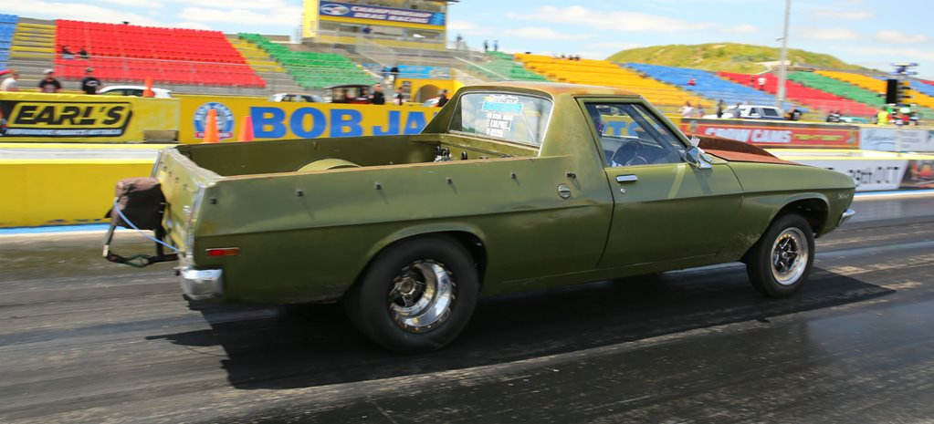 DRAG CHALLENGE 2016: NINE-SECOND HQ FARM UTE – VIDEO