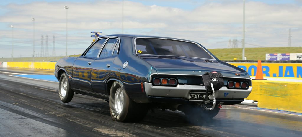 DRAG CHALLENGE 2016: MONSTER 600 CUBE FORD XA SEDAN – VIDEO