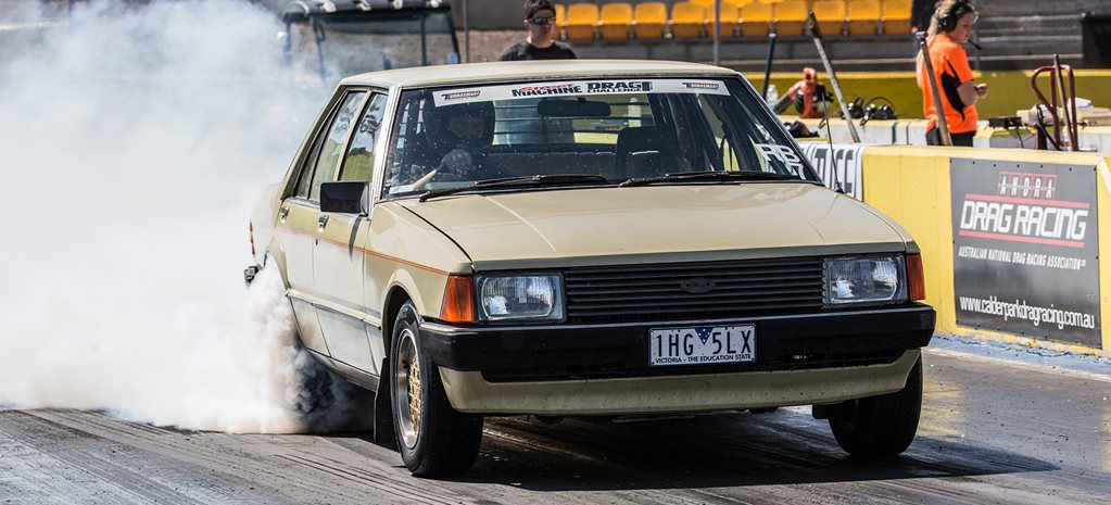 TURBO BARRA-POWERED XD FALCON TAKES ON DRAG CHALLENGE - VIDEO