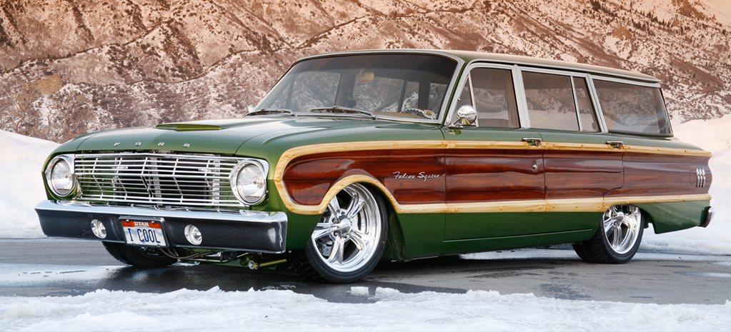1963 FORD FALCON SQUIRE WAGON