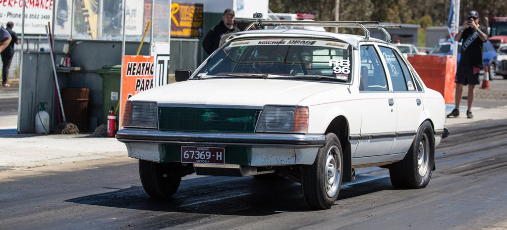VC COMMODORE SLEEPER AT DRAG CHALLENGE - VIDEO