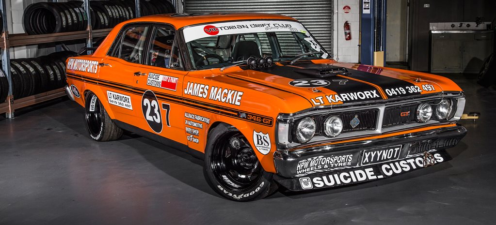 BLOWN LS1-POWERED 1971 FORD XY FALCON 500 DRIFTER - XYYNOT