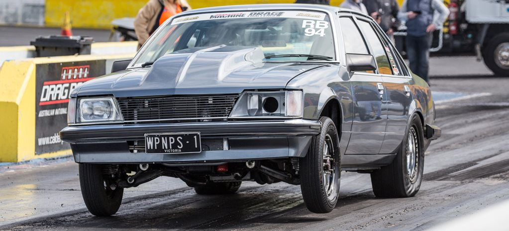 EIGHT-SECOND BLOWN LS3-POWERED VH COMMODORE AT DRAG CHALLENGE