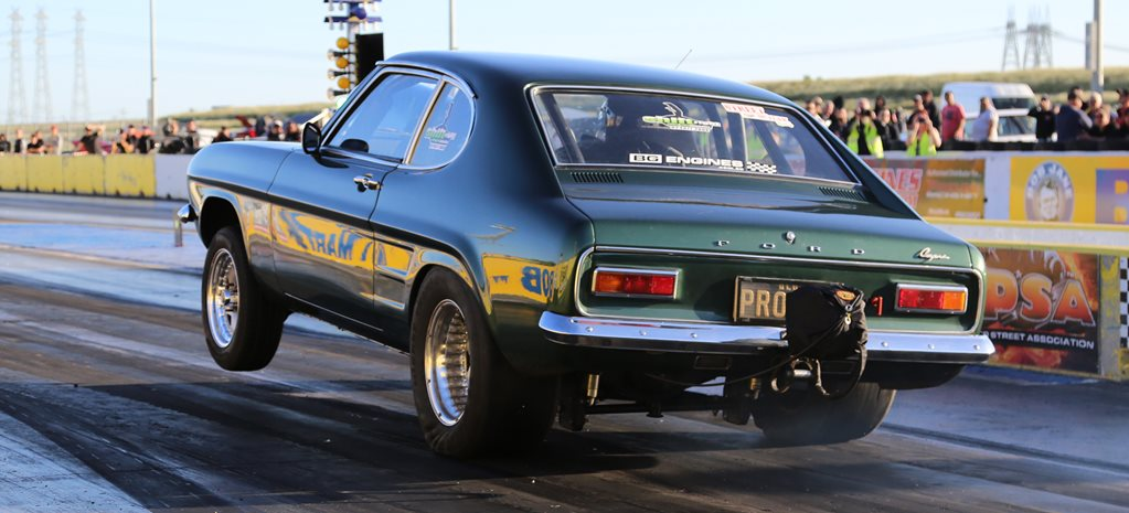 DRAG CHALLENGE RADIAL ASPIRATED-WINNING 450CI FORD CAPRI