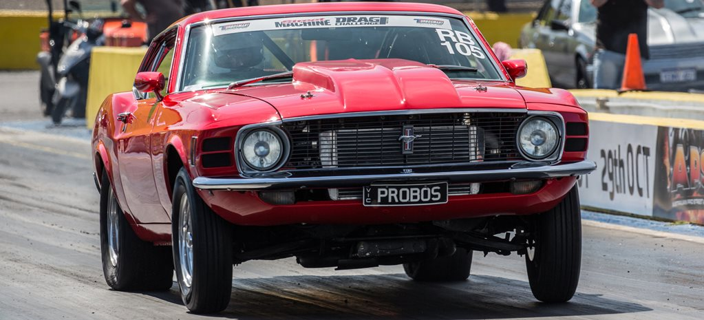 EIGHT-SECOND TURBO CLEVO-POWERED MUSTANG AT DRAG CHALLENGE