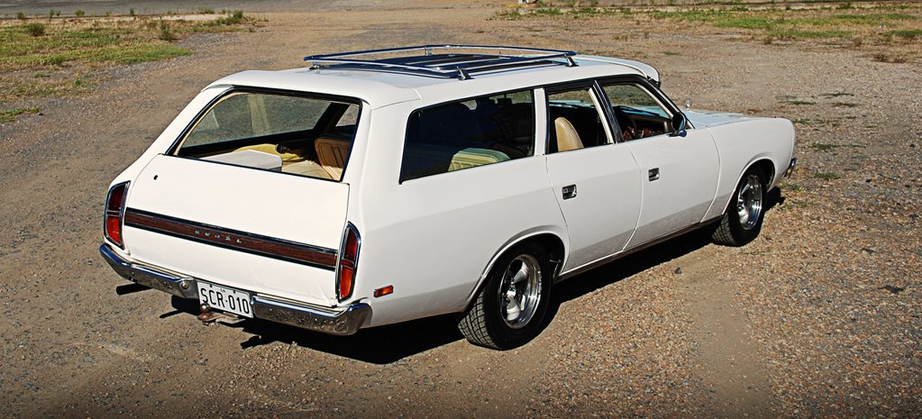 BUDGET-BUILT HEMI-SIX CHRYSLER VALIANT WAGON