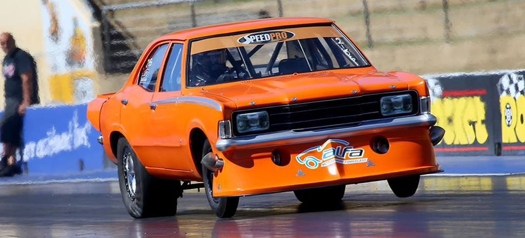 PAZZO'S FORD CORTINA SETS NEW RADIAL RECORD – VIDEO