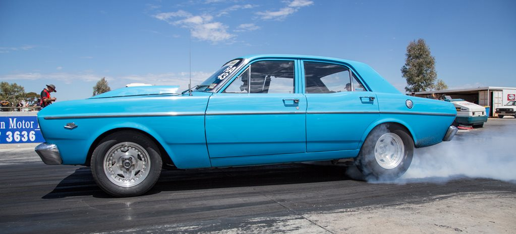 10-SECOND 440ci WINDSOR-POWERED FORD XR FALCON AT DRAG CHALLENGE