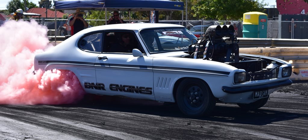 BURNOUTS AND SHOW & SHINE AT SPRINGNATS 2016