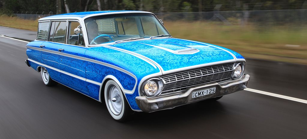 CUSTOM CANDY LACE-PAINTED 1964 FORD XM FALCON WAGON