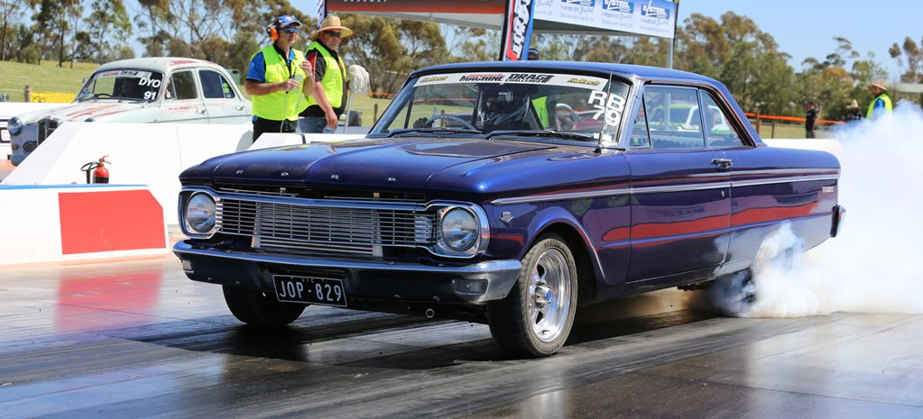 TWIN-TURBO 363CI SMALL-BLOCK FORD XP COUPE AT DRAG CHALLENGE
