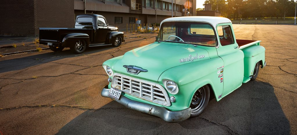 UNITED SPEED SHOP'S 50s PRO TOURING PICK-UP TRUCKS