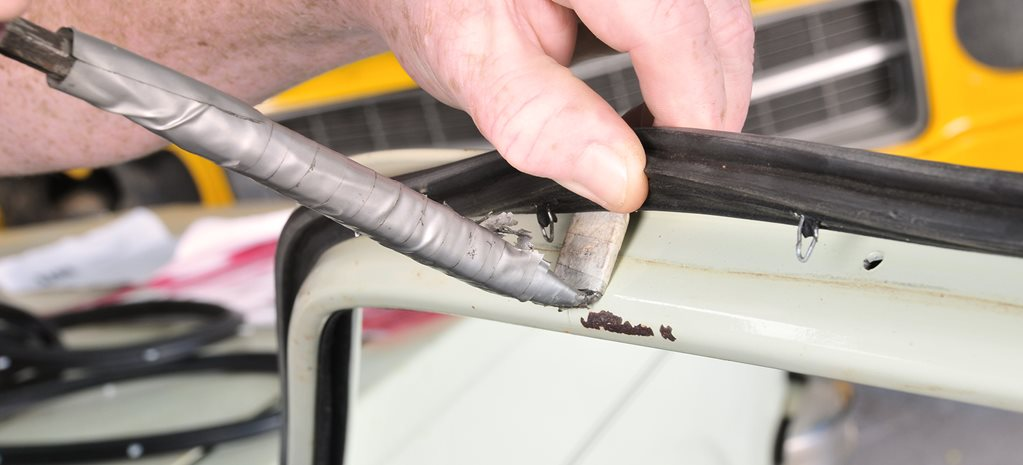 HOW TO REPLACE WORN CAR DOOR SEALS